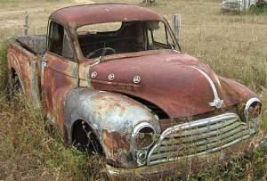 1954_Morris_Cowley_Half-ton_Pick-up_Truck