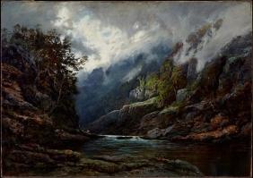 W. C. Piguenit, The Upper Nepean (1889)